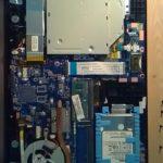 Les composants dans un ordinateur portable